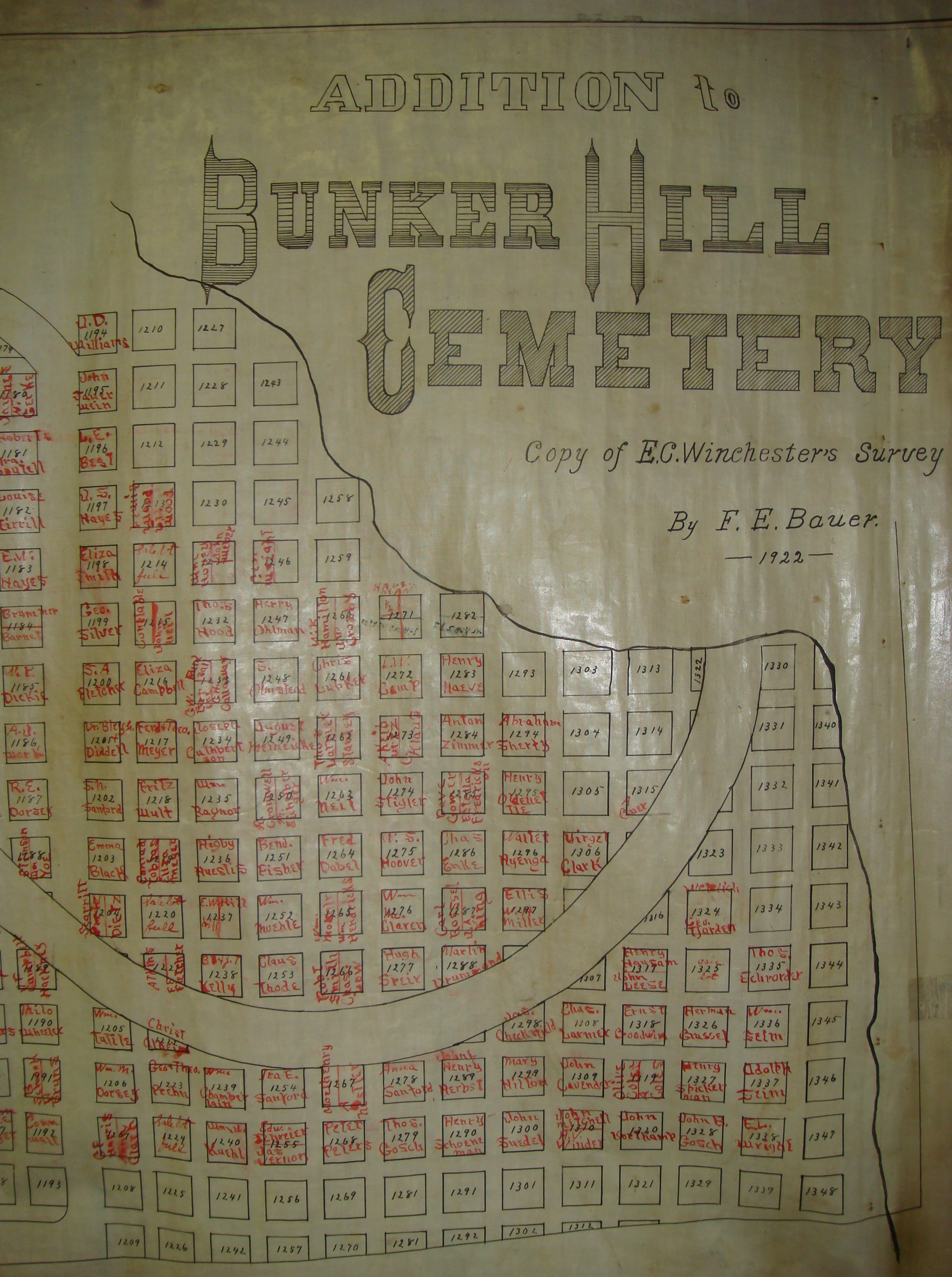 Bunker Hill Illinois Map.Bunker Hill Cemetery Map Macoupin County Il