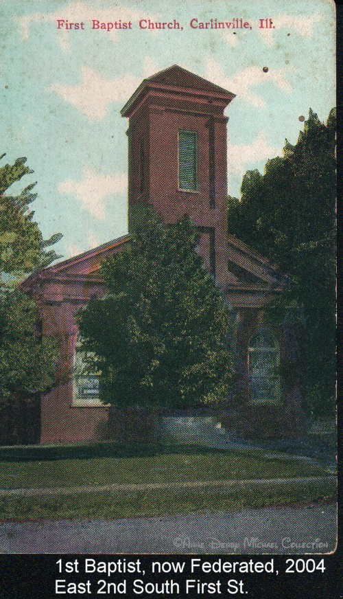 Penny Postcards - Anne Denby Michael Collection, Macoupin County IL